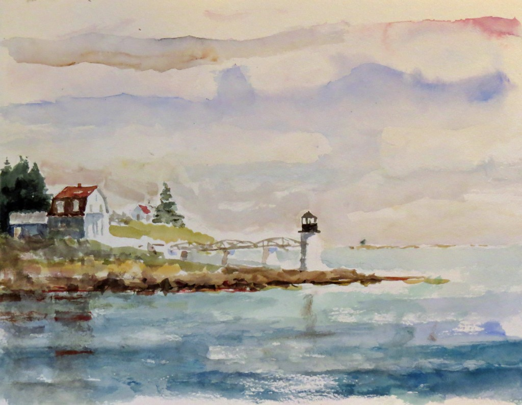 MARSHALL POINT WATERCOLOR